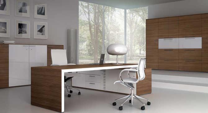italian office desk. Iponti-7 Italian Office Desk