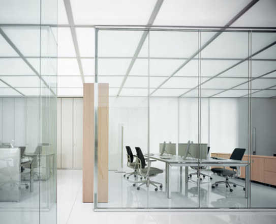 Italian glazed partition walls - - Office & Contract Furniture ...