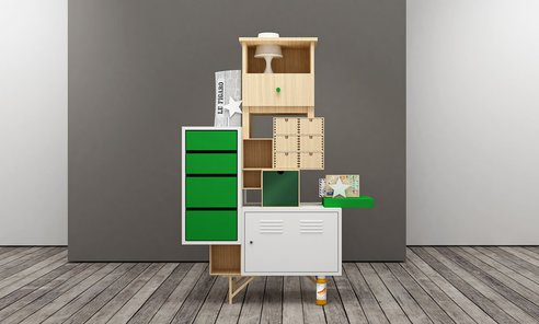 Customizing IKEA furniture to create new design desks ...