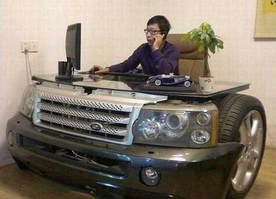 car desk Rover